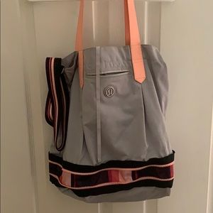 Lululemon crossbody/tote